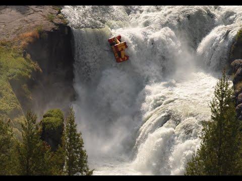 Lower Mesa Falls Idaho Kayak