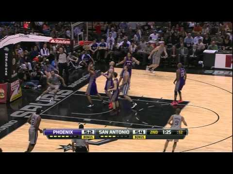 Manu Ginobili Euro Step Ball Fake