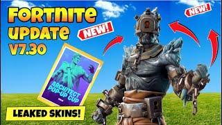 Fortnite News Updates V7.30 Part 2: Season 8 Event! Leaked Skins!
