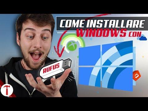 Come Installare Windows da Chiavetta con Rufus