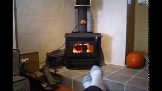 Installing A Wood Burning Stove Part 3 The Wrap Up! Done.