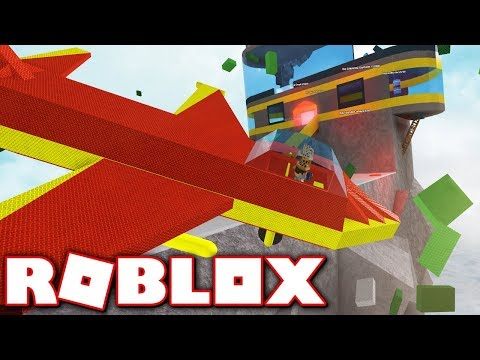 FLYING FORTRESS TYCOON!! MAKE YOUR FORTRESS IN THE SKY & DESTROY OTHERS!! Roblox
