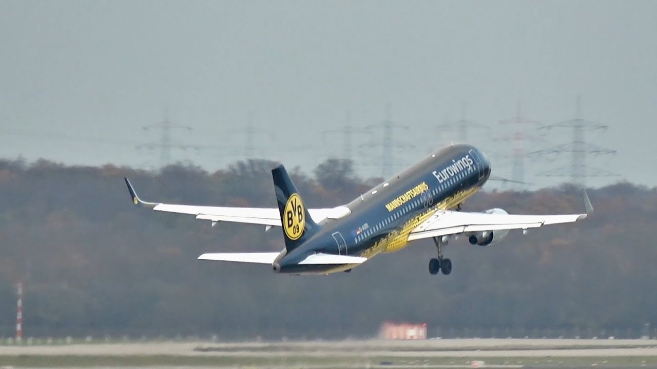 eurowings bvb flieger