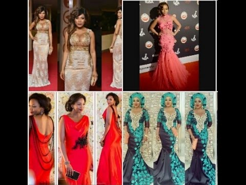 Stunning African Red Carpet Dresses, African Style