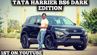 Tata Harrier BS6 DARK EDITION 2020,Panoramic Sunroof,Automatic,1st In HARYANA,Detail Review YouTube Videos