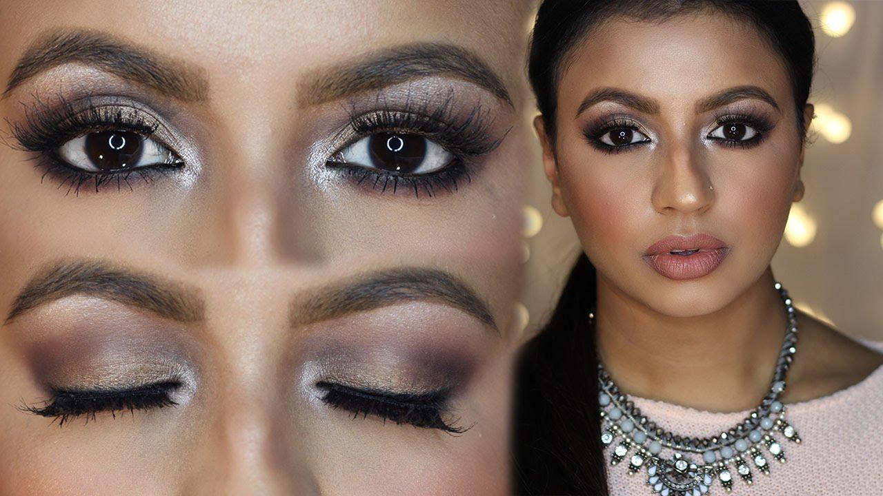 Gold Smokey Eyes Makeup Tutorial For Brown Eyes Meeramemep Youtube