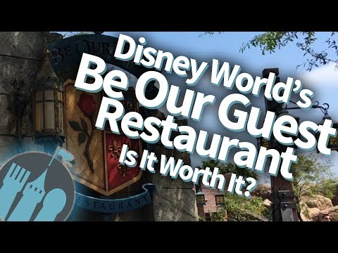 Tips and Secrets for Be Our Guest Restaurant in Disney World!