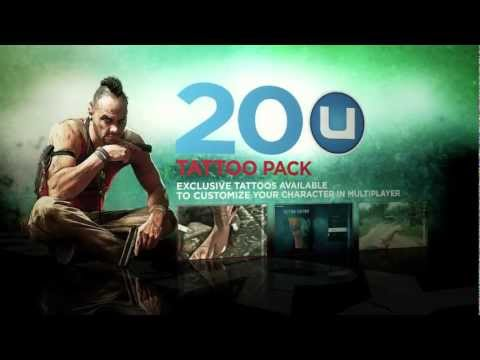 Far Cry 3 Exclusive Uplay Rewards North America Youtube