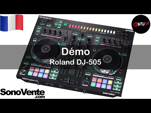 DOES ROLAND DJ 505 COME WITH VIDEO