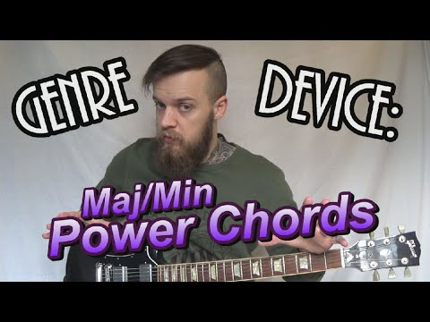 Genre Device: Rock/Post-Hardcore Maj/Min Power Chords Guitar Lesson