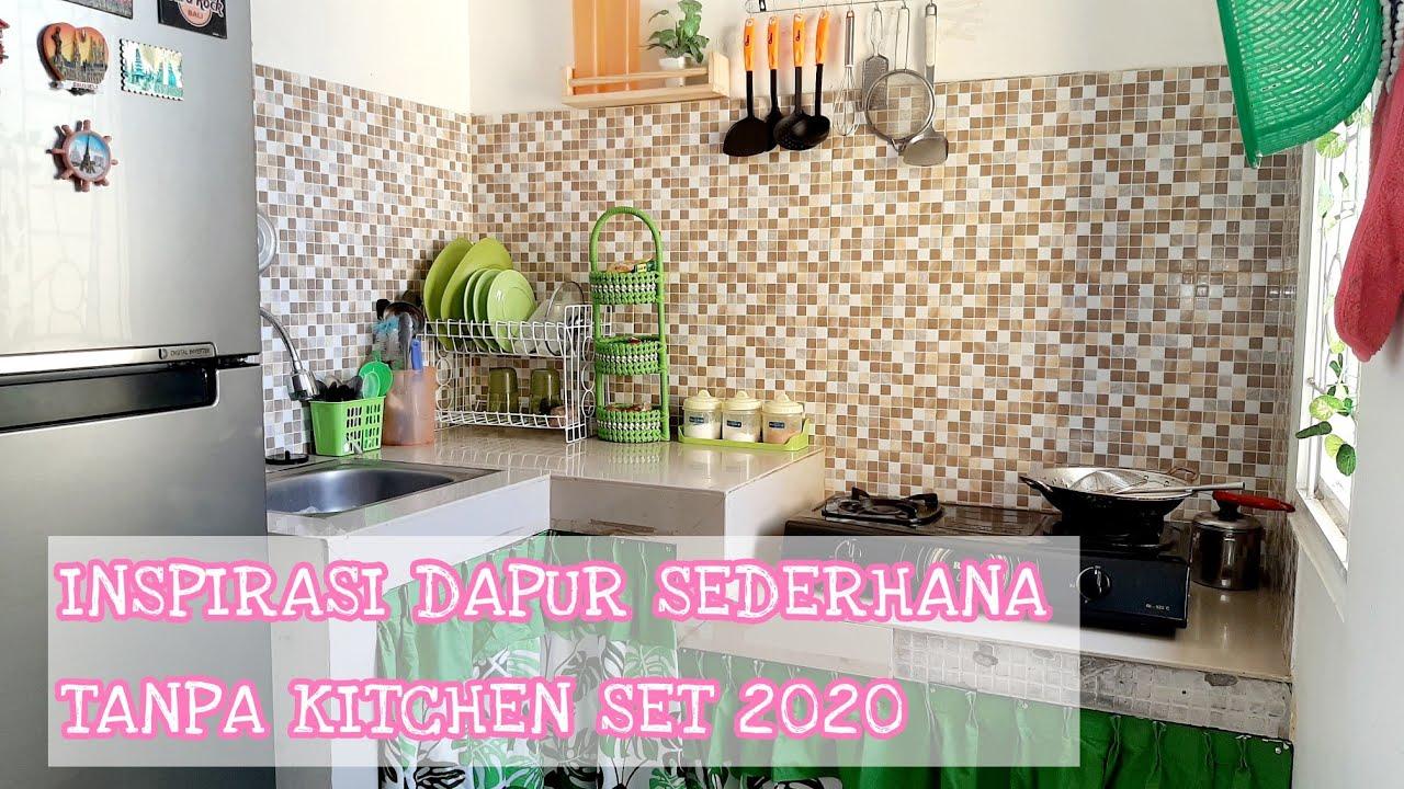 Dapur Minimalis Nuansa Hijau Tanpa Kitchen Set Inspirasi Dapur Bersih Youtube