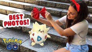 Japan's BEST GO Snapshot Photographers! Pokémon GO AR+