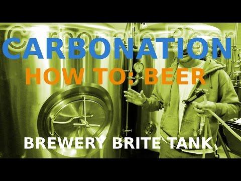 CARBONATE BEER, Craft Beer Brite Tank, How To