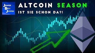 Ist die Altcoin Season eröffnet?! ETH +100% in 2 Monaten