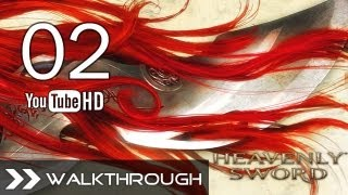 Heavenly Sword (PS3) - Walkthrough/Gameplay (Part 2 - Chapter 1: Night Attack) HD 1080p