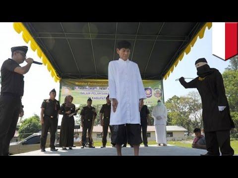 Hasil carian imej untuk Pasangan gay di Aceh hadapi hukuman rotan 100 kali