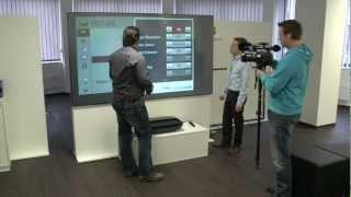 Vorstellung des Laserprojektors HECTO von LG