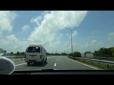 Expressway to Negombo from Colombo, Sri Lanka