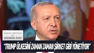 Türkiye-ABD ilişkileri - Başkan Erdoğan ile Gündem Özel