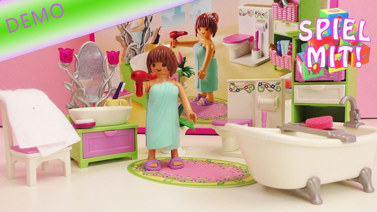 Playmobil Baden  Playmobil Dollhouse Romantik Bad 5307