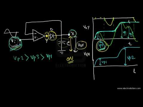 peak detector youtube rh youtube com DC Voltage Detector Circuit Edge Detector Circuit