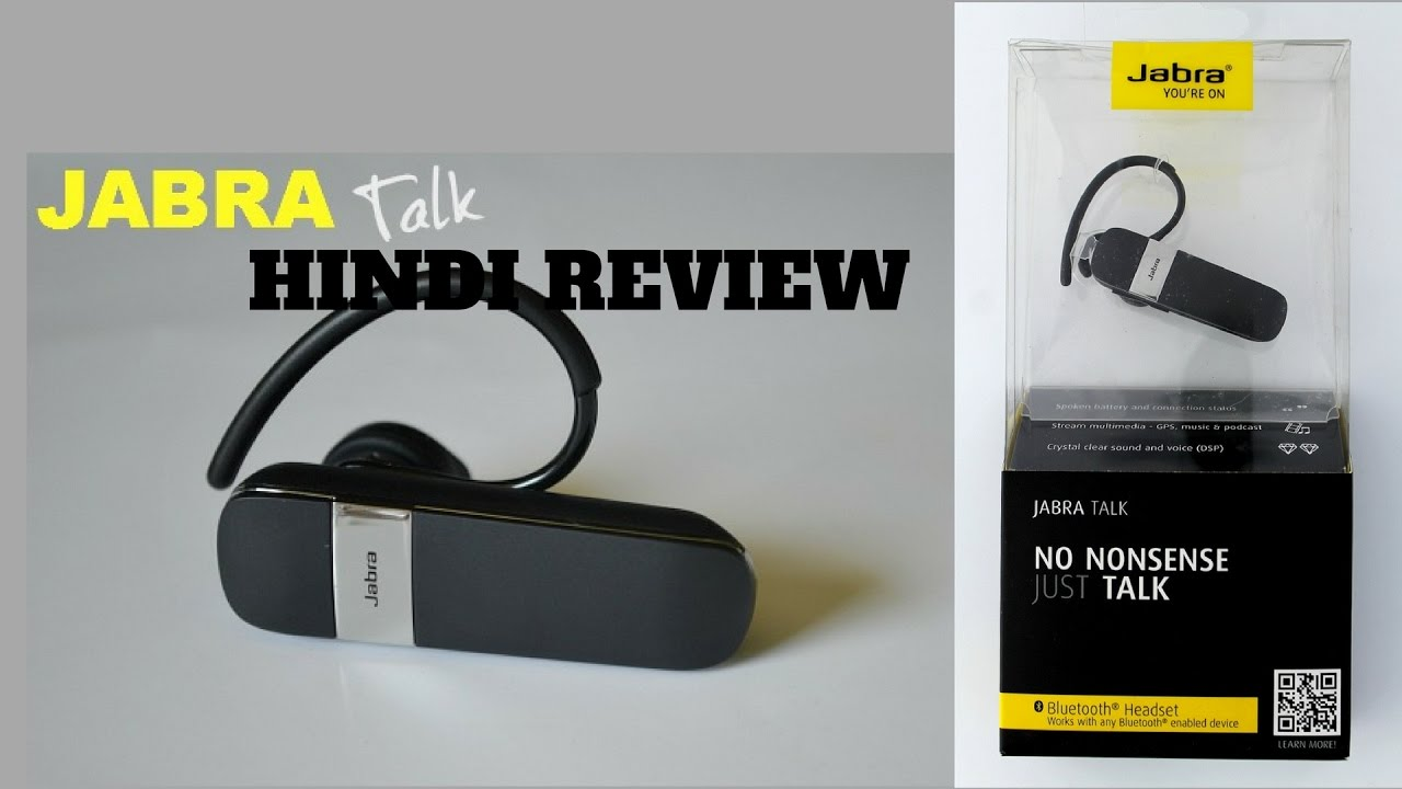 Jabra Talk Bluetooth Headset Hindi Quick Review Jabra Bluetooth Headset Hindi Unboxing Test Youtube