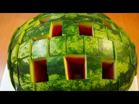 How to Cut a Watermelon to Eat - Food Life Hacks