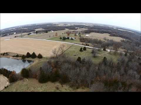 Parrish T. Young Aerial Tour - Hancock County, IL