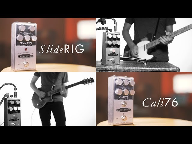 Origin Effects: SlideRig and Cali76 Compact Deluxe Compressor