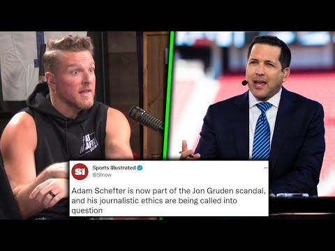 Adam Schefter's Journalistic Integrity Under Fire After Email Leak?   Pat McAfee Reacts