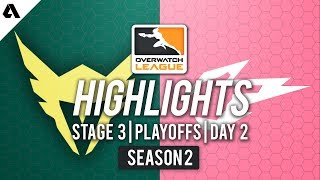 LA Valiant vs. Hangzhou Spark | Overwatch League S2 Highlights - Stage 3 Playoffs Day 2