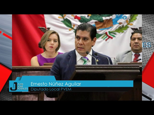 Ernesto Nuñez presenta iniciativa de ley para la recuperación y aprovechamiento de alimentos