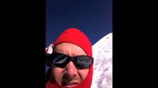 Climbing Mt Adams Washington