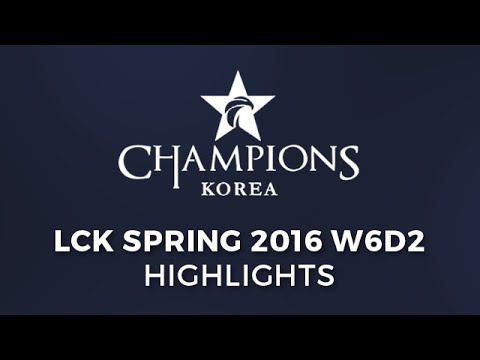 LCK W6D2 Highlights All Games - SKT vs LZ   EMF vs AF New Flash Game