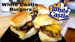 White Castle Burgers! | Can we top then?!