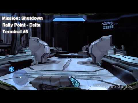 Halo 4 - Terminus (Terminal Locations) - Achievement Guide (HD)