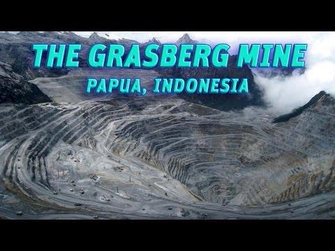 The Giant Holes: The Grasberg Mine(Freeport), Papua-Indonesia #Vendora