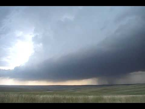 Supercell timelapse 7/13/09 Haakon county, SD