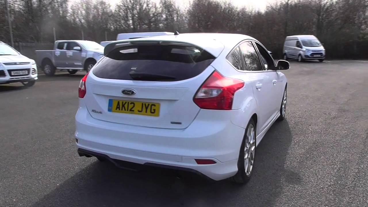 ford focus 1.6 182 ecoboost zetec s 5dr u20601 - youtube