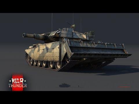 War Thunder - Upcoming Content - Centurion AVRE (Rank V Premium)