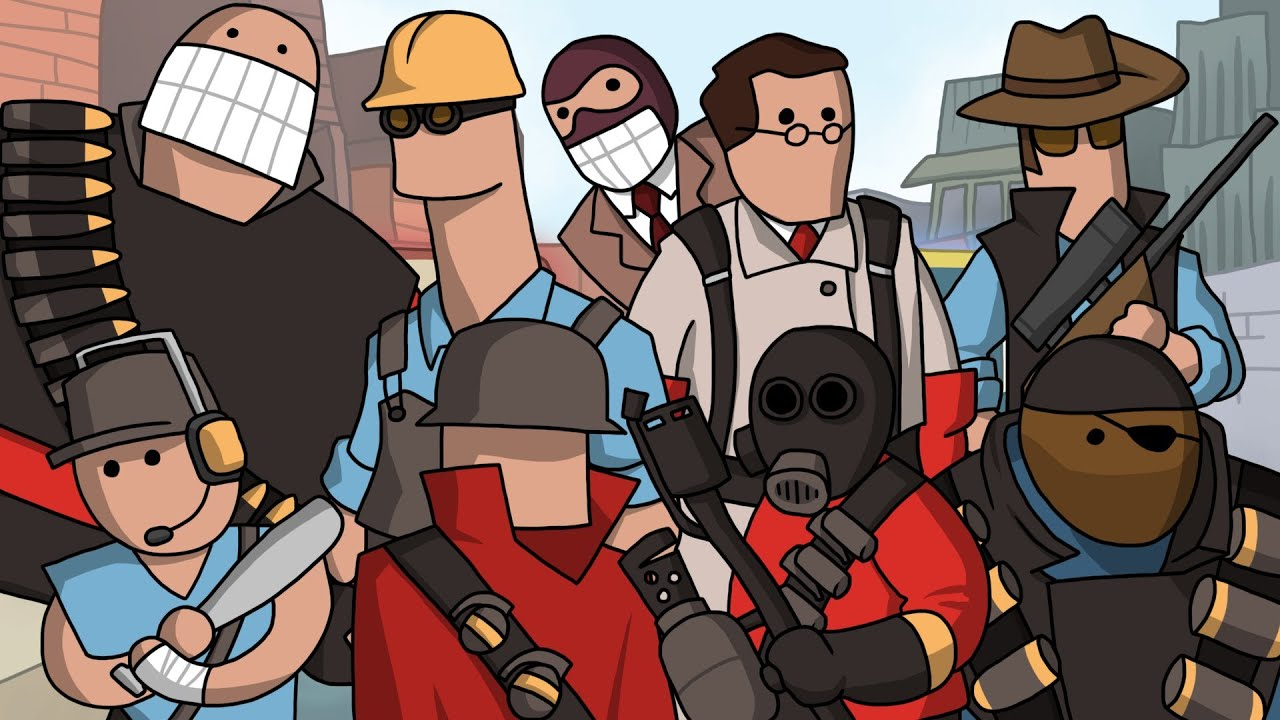 tf2 meet them all hd pig