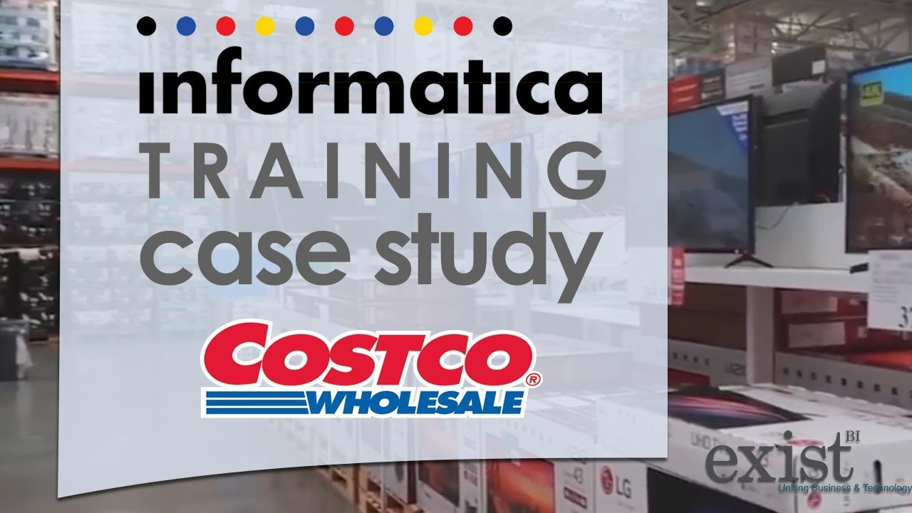 informatica training case study costco youtube