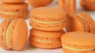 Pumpkin Spice Macarons Recipe Demonstration - Joyofbaking.com