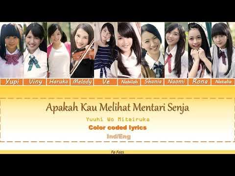 Yuuhi Wo Miteiruka / Apakah Kau Melihat Mentari Senja - JKT48 Color Coded Lyrics [IND/ENG Sub]