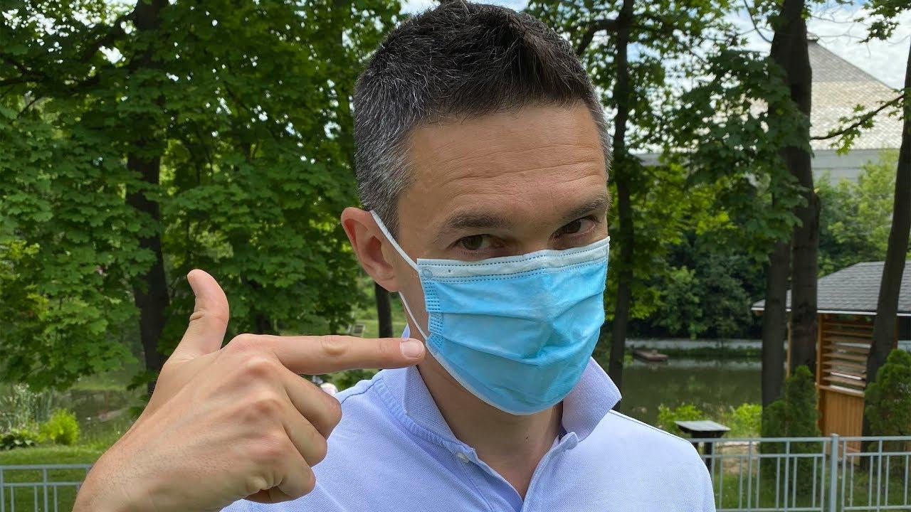 Я неправильно носил маску!