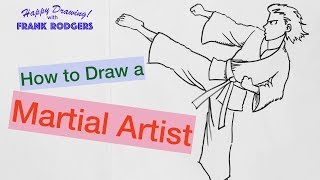 How to Draw a Martial Artist - Illustration Live with Frank Rodgers