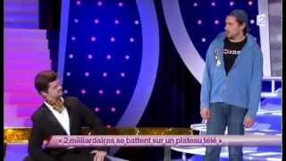 Garnier et Sentou [45] 2 milliardaires se battent sur un plateau télé #ONDAR