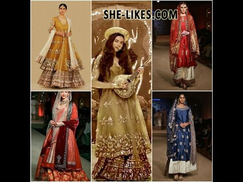 Bajirao Mastani Saree Lehenga And Suits Youtube