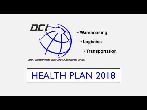 DCI 2018 Health plan Summary