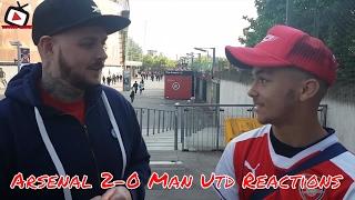 Fan Cams Ft DT, Memz & More | Arsenal 2-0 Manchester United  l AFTV Young Gunz